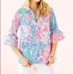 Ginger top Lily Pulitzer